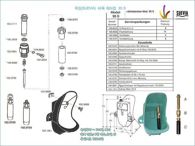 비육 워터컵 95S